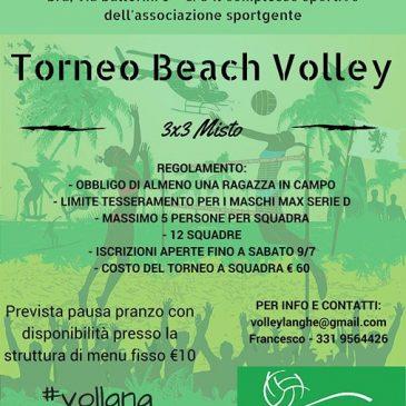 Primo Torneo di Beach Volley